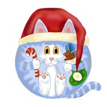 Bauble Cat Christmas