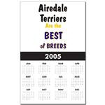 Awsome Airedale Terrier Calendars