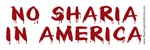 No Sharia in America!