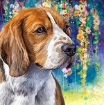 Beagle Painting