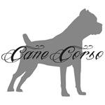 Gray Silhouette Cane Corso
