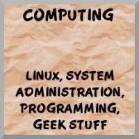 Computing, Linux, geek merchandise