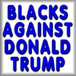 Blacks against Donald Trump