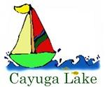 Cayuga Lake sailboat