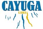 Cayuga Lake in the region.
