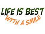 Life is Best with a Smile
