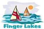 Finger Lakes sailboat scene