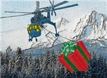 Helicopter Christmas