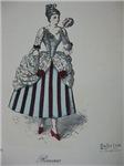 Rococo Dress Plate