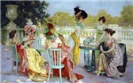 Regency Ladies' Tea Party