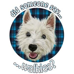 Wee Westie Walkies