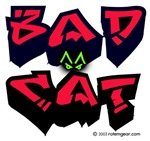 Bad Cat Tagger Logo Gear