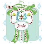 Personalize it! Holiday Gift Blue