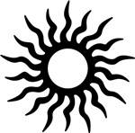 Tribal Sun Icon
