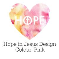 Hope in Jesus Design in Pink