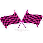 BoostGear Hot Pink Racing Flags