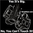 Yes It's Big,  No You Can't Touch It