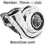 Boost Gear - 70mm + Turbo Club