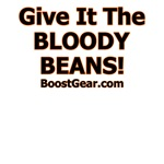 Give It The Bloody Beans -Black and Orange