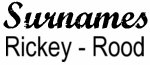 Vintage Surname - Rickey - Rood