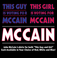This Guy and Girl Votes for McCain