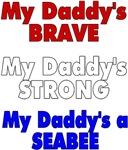 My daddys brave