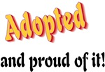 Adopted and proud of it