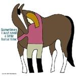 I Need Horse Time - bay