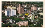 Aerial View of Rochester Minnesota, 1944