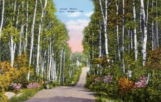 Echo Trail, near Ely Minnesota, 1940's