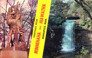 Greetings from Minnehaha and Hiawatha, 1960's