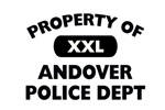 Property of Andover Police Dept Shop