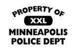 Property of Minneapolis PD Shop