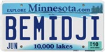 Bemidji License Plate Shop