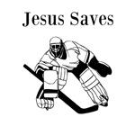 Jesus Saves - Hockey 3