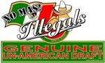 Illegals - Genuine Un-American Draft T-shirts & Gi