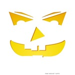 Maniacal Carved Pumpkin T-shirts & Gifts