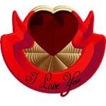 Rope heart I?U