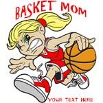 PERSONALIZED BASKET MOM