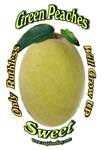 Ruthless Green Peaches Logo