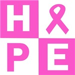 Hope pink ribbon