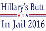 Hillary's Butt in Jail 2016