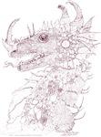 Dark Sepia Steveg's Dragon