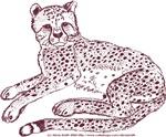 Cheetah Cub Sepia