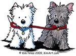Walking Buddy Terriers