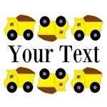 Personalizable Yellow Trucks