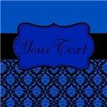 Personalized Blue Black
