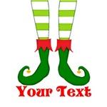 Personalizable Elf Feet