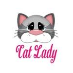 Cat Lady Gray Cat