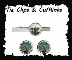 Tie Clips and Cufflinks